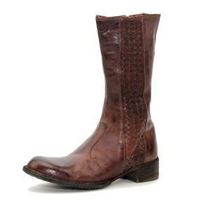 Bubetti - Bubetti 9795 Lux 538 Kastanjebrun Støvle med lang skaft