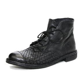 Bubetti - Bubetti 9727 sort dame støvle med flet