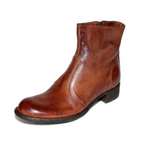 Bubetti - Bubetti 9645 Lux.538 kastanje støvle med indvendig lynlås