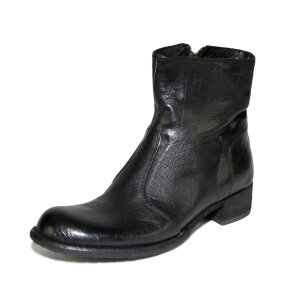 Bubetti - Bubetti 9645 Lux.Nero sort støvle med indvendig lynlås