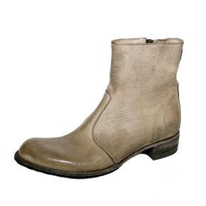 Bubetti - Bubetti 9645 Lux.556 taupe støvle med indvendig lynlås