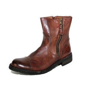 Bubetti - Bubetti 6682 kastanje brun damestøvle i skind