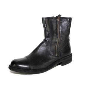 Bubetti - Bubetti 6682 sort damestøvle i skind