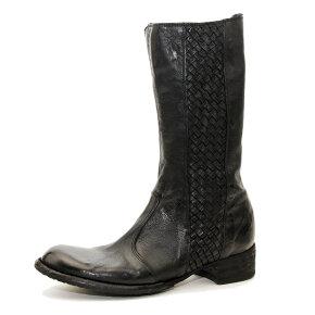 Bubetti - Bubetti 9795 Lux Nero Sort Støvle med lang skaft