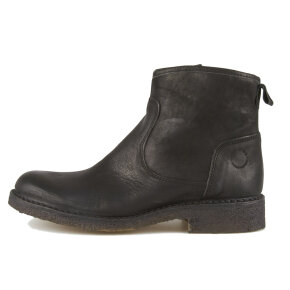 Cashott - Cashott 16042 sort dame vinterstøvle med foer
