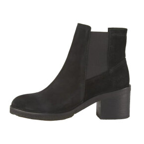 Cashott 16070 støvle i sort ruskind m. elastik - Køb på Piedi.dk