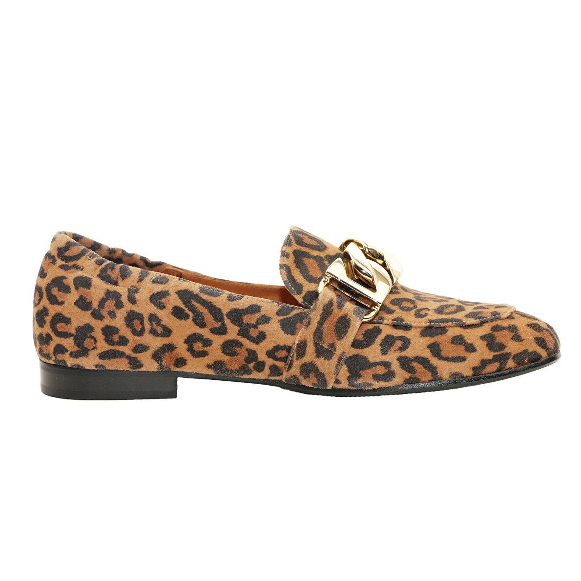 ba2832b1ebe Billi Bi 6522 Leopard Loafer - Billi Bi Loafers - Piedi.dk