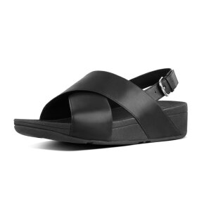 Fitflop - Fitflop Lulu Cross sort dame sandal