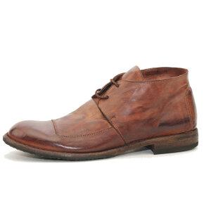 Bubetti - Bubetti 8678 Lux.538 Kort Kastanjebrun Herre Snørestøvle