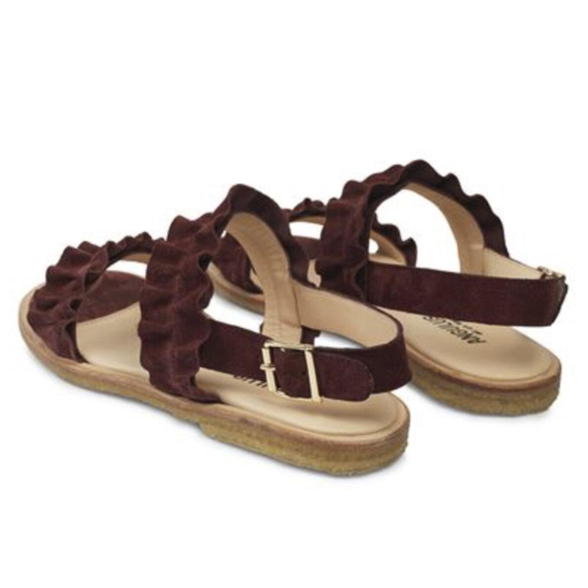 fd03469c3351 ... Angulus - Angulus 5558 bordeaux dame sandal med flæser