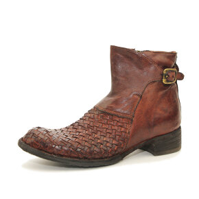 Bubetti - Bubetti 9797 Lux 538 Katanjebrun dame støvle med flet