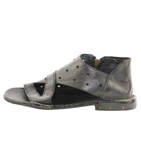 Bubetti - Bubetti 3509 Lux.Nero Sandal med huller