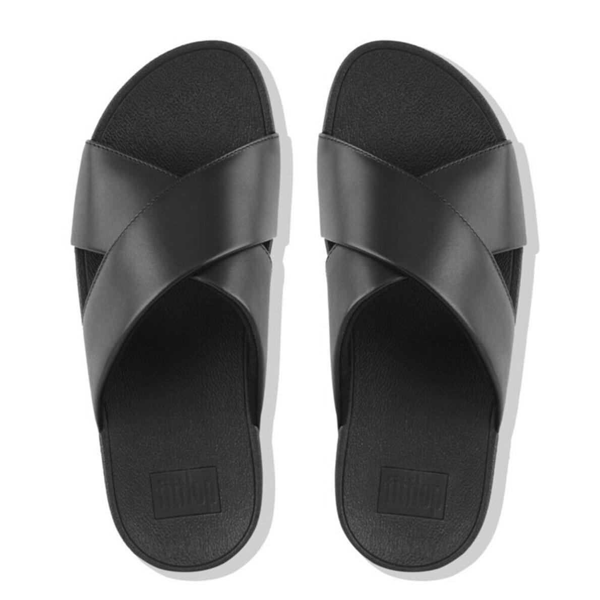 214fef445288 ... Fitflop - Fitflop Lulu Cross K04-001 Slip-In Sandal ...