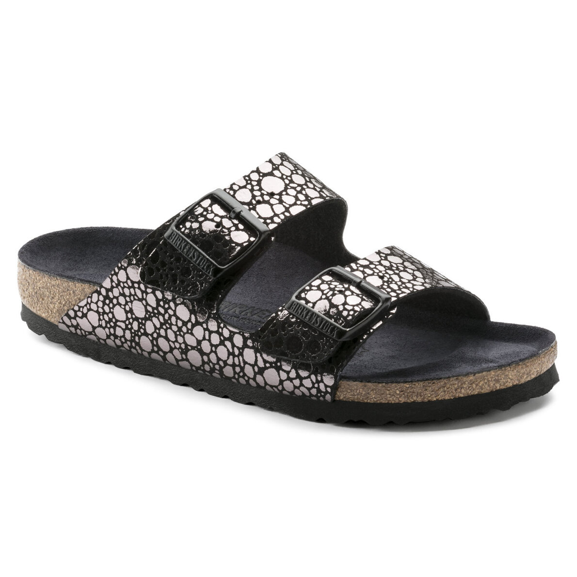 171cd70792f2 ... Birkenstock - Birkenstock Arizona Metallic Stones Black dame sandal ...