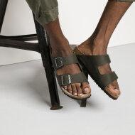 Birkenstock - Birkenstock Arizona Desert Soil Green Herre sandal