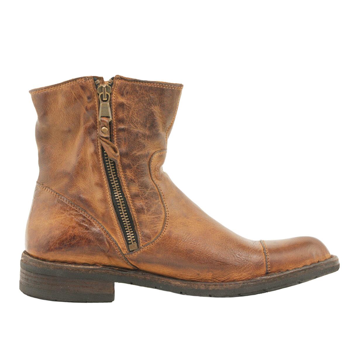 8352b5a8243 ... Bubetti - Bubetti 6682 lys brun damestøvle i skind ...