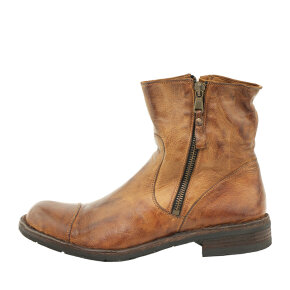 Bubetti - Bubetti 6682 lys brun damestøvle i skind