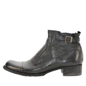 Bubetti - Bubetti 9849 Lux Nero sort støvle med spænde