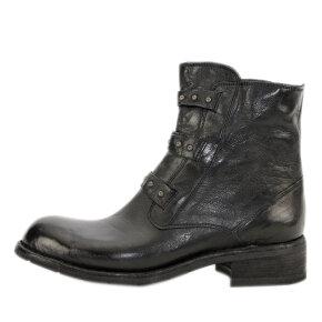 Bubetti - Bubetti 9828 sort dame støvle med nitter