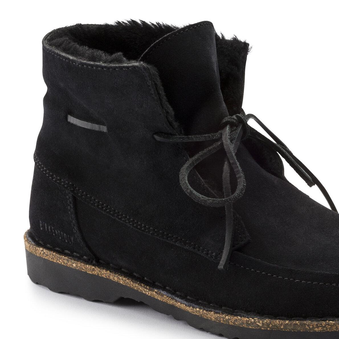 8ff545e9e66 ... Birkenstock - Birkenstock Bakki Sort dame støvle med for ...