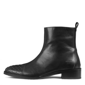 Angulus - Angulus 7557-101 sort støvle med nitter