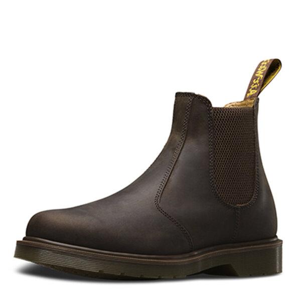 cefbfb57a5b3 Favoritliste · Dr. Martens - Dr. Martens 2976 crazy horse gaucho brun herre  chelsea støvle