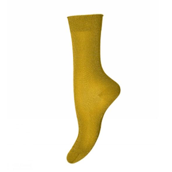 MP Denmark - MP Pernille 79575 gule glimmer strømper