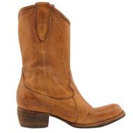 Bubetti - Bubetti 9752 Cognac dame Cowboy Støvle