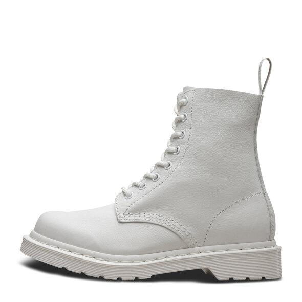 Dr. Martens - Dr. Martens 1460 PASCAL MONO VIRGINIA OPTICAL WHITE hvid dame støvle