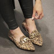 Billi Bi - Billi Bi 6508 Leopard Loafer med bidsel