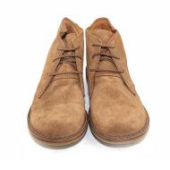 Bubetti - Bubetti 9864 brun dame snørestøvle i ruskind
