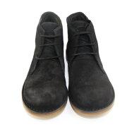 Bubetti - Bubetti 9864 sort dame snørestøvle i ruskind