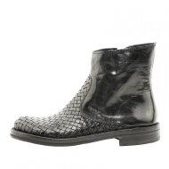 Bubetti - Bubetti 9825 sort dame støvle med flet