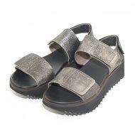 Lofina - Lofina E9-072 bronze metallic dame sandal