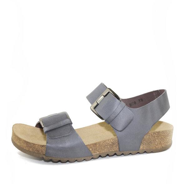 Lofina - Lofina 808 blå dame sandal med fodseng