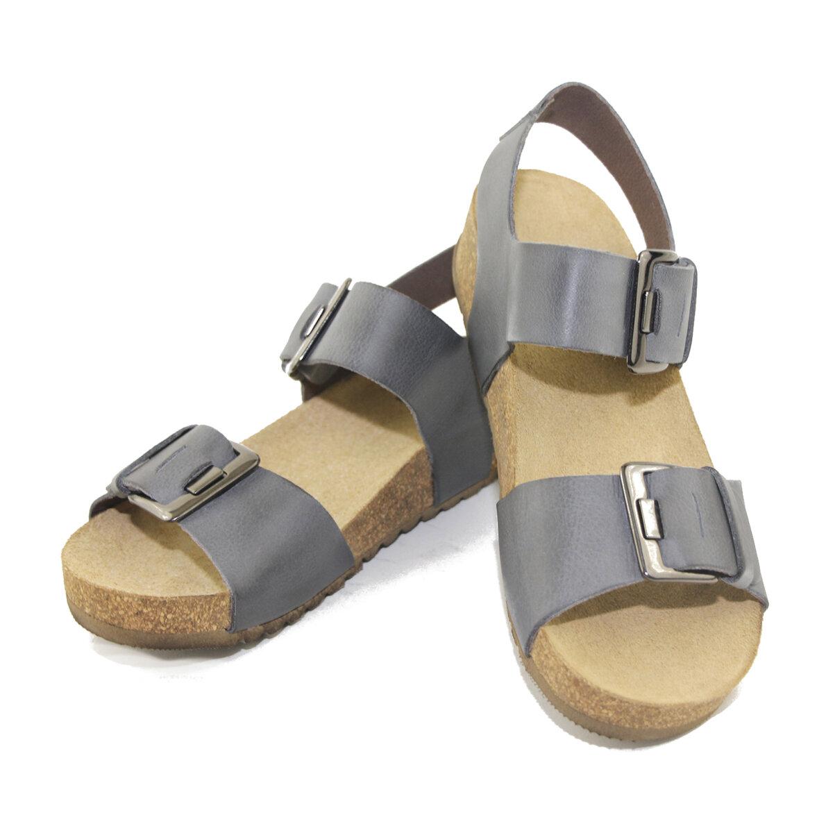 3514d09208e0 Lofina 808 - Blå dame sandal med fodseng - Piedi.dk