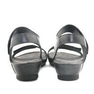 Cashott - Cashott 19030 sort dame sandal med velcro
