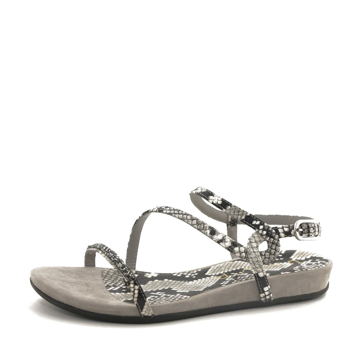 22d5d342d97 Unisa - Unisa Angola dame sandal med snake print og swarovski sten ...