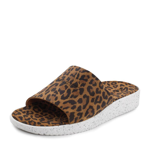 Nature  - Nature Dagmar Leopard dame slip in sandal