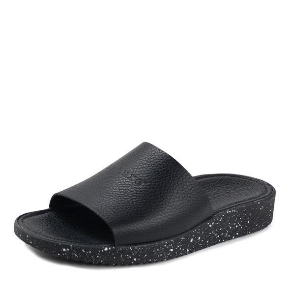 Nature  - Nature Dagmar Sort dame slip in sandal