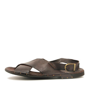 Bubetti - Bubetti 3520 Lux 538 Kastanjebrun Dame Sandal med Bagrem