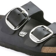 Birkenstock - Birkenstock Arizona Big Buckle Sort Damesandal
