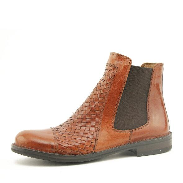 Bubetti - Bubetti 9856 Smart 756 cognac dame chelsea støvle