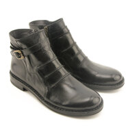 Bubetti - Bubetti 9861 smart nero sort dame støvle med rem