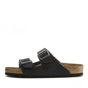 Birkenstock - Birkenstock Arizona Oiled Leather sort Herre sandal