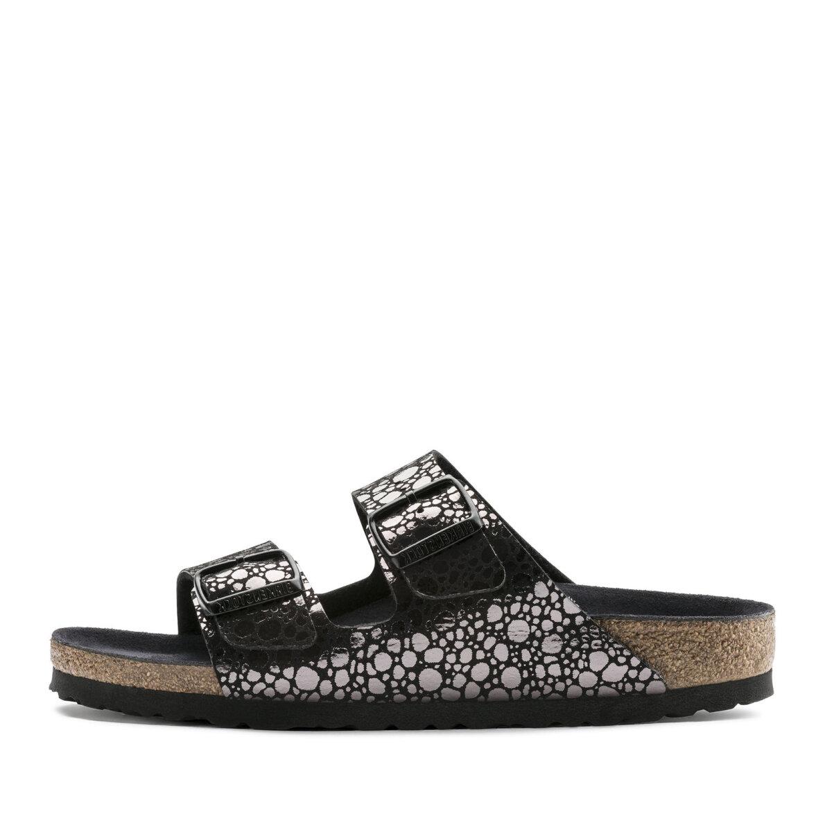 c8bb460eb719 Birkenstock - Birkenstock Arizona Metallic Stones Black dame sandal ...