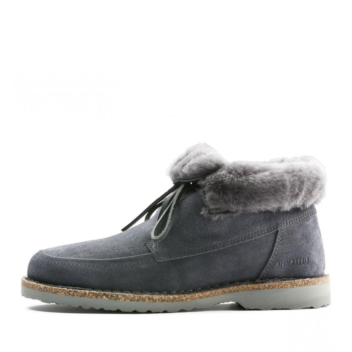 365711895ca Birkenstock - Birkenstock Bakki Grå dame støvle med for ...