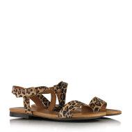 Billi Bi - Billi Bi 8714 leopard dame sandal