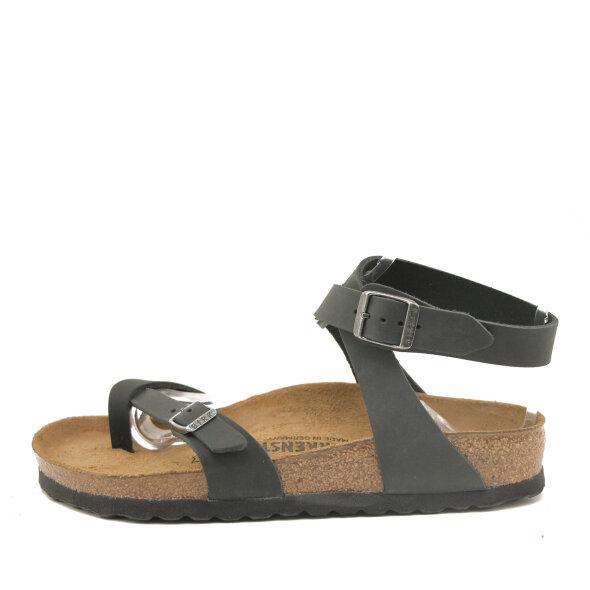 Birkenstock - Birkenstock Yara sort dame sandal med ankelrem