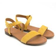 Billi Bi - Billi Bi 8714 gul dame sandal